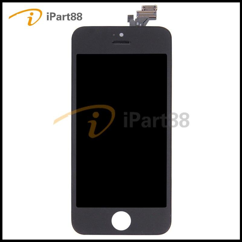 imágenes para YUEYAO Grado AAA Calidad de la Pantalla LCD Para Apple iPhone 5 LCD Asamblea Del Digitizador de la Pantalla Táctil Al Por Mayor, para el iphone 5 5G LCD