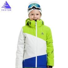 Boys Ski Suit Waterproof Pants Jackets Waterproof Kids Ski Jacket Ski Pants Winter Snowboard Clothes for Boys -30 degree недорого
