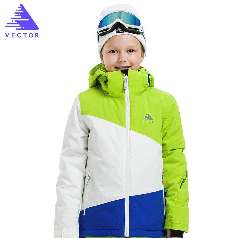 Garçons combinaison de Ski pantalons imperméables vestes imperméable enfants veste de Ski pantalon de Ski hiver Snowboard vêtements pour garçons-30 degrés