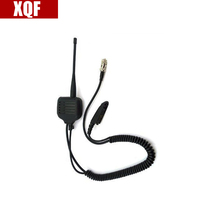 XQF Speaker Mic for Motorola radio GP328 GP340 GP360 GP380 with UHF/VHF Antenna