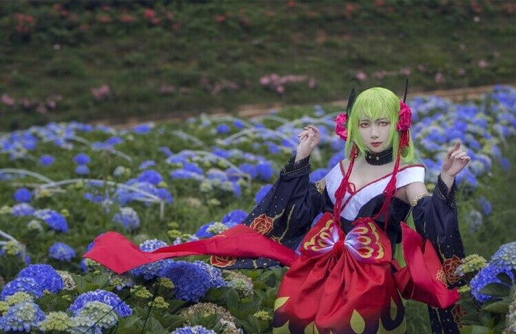 Courtisane Cosplay Uniformes Cc Costume Geass Kimono Lelouch Gratuite Livraison twPgFnqvxT