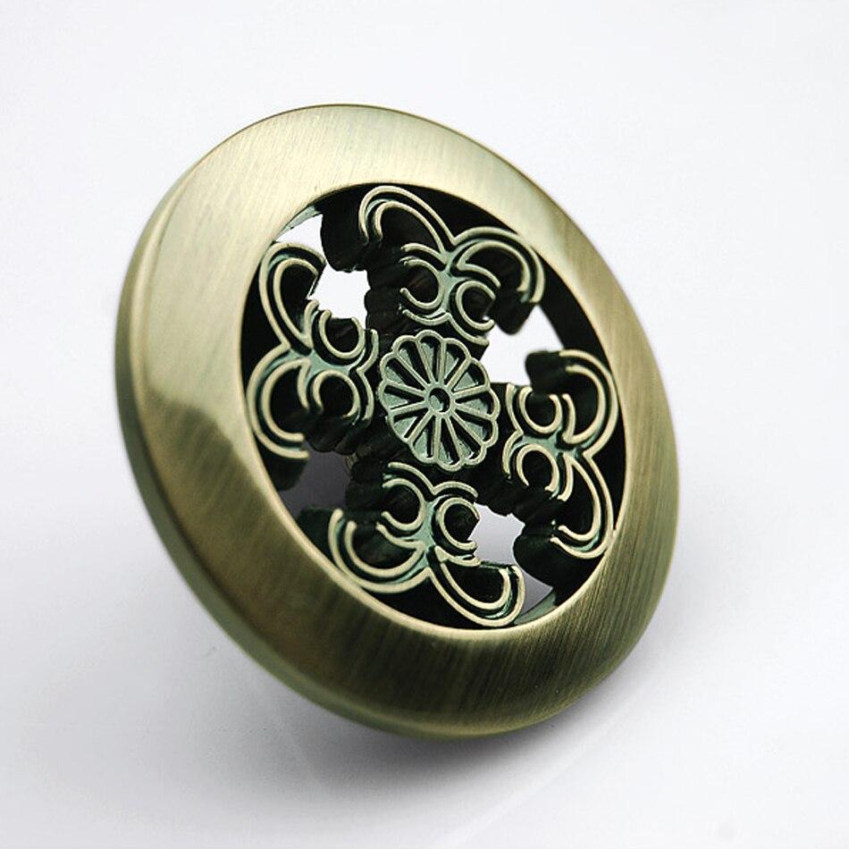 10pcs round classical bronze fastener drawer pulls cabinet for Children s bureau knobs