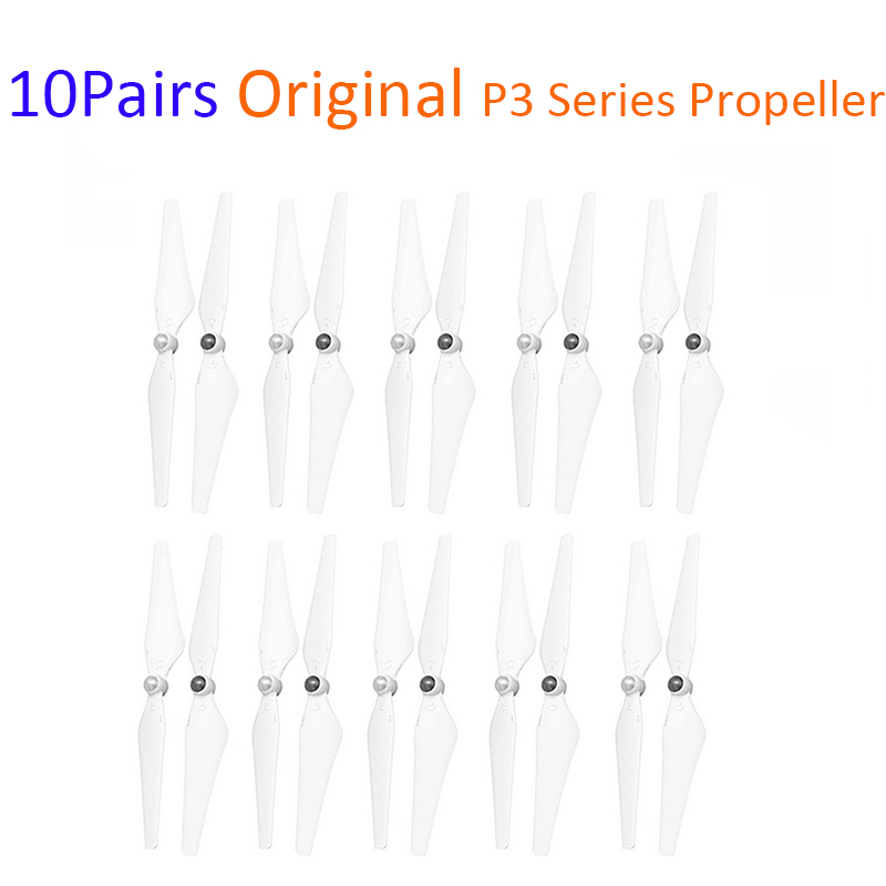 10 Pairs Original Voll Weiß Phantom 3 Serie Propeller für DJI Phantom 3 Standard/Professional/Erweiterte Drone Zubehör-in Drohne-Zubehör-Kits aus Verbraucherelektronik bei  Gruppe 1