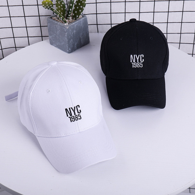 b76243ff665 New NYC Baseball Cap Men Women Cotton Snapback Caps Embroidery Letter Dad  Hat Unisex Summer Casual Sun Hat NY Hip Hop Cap Gorras