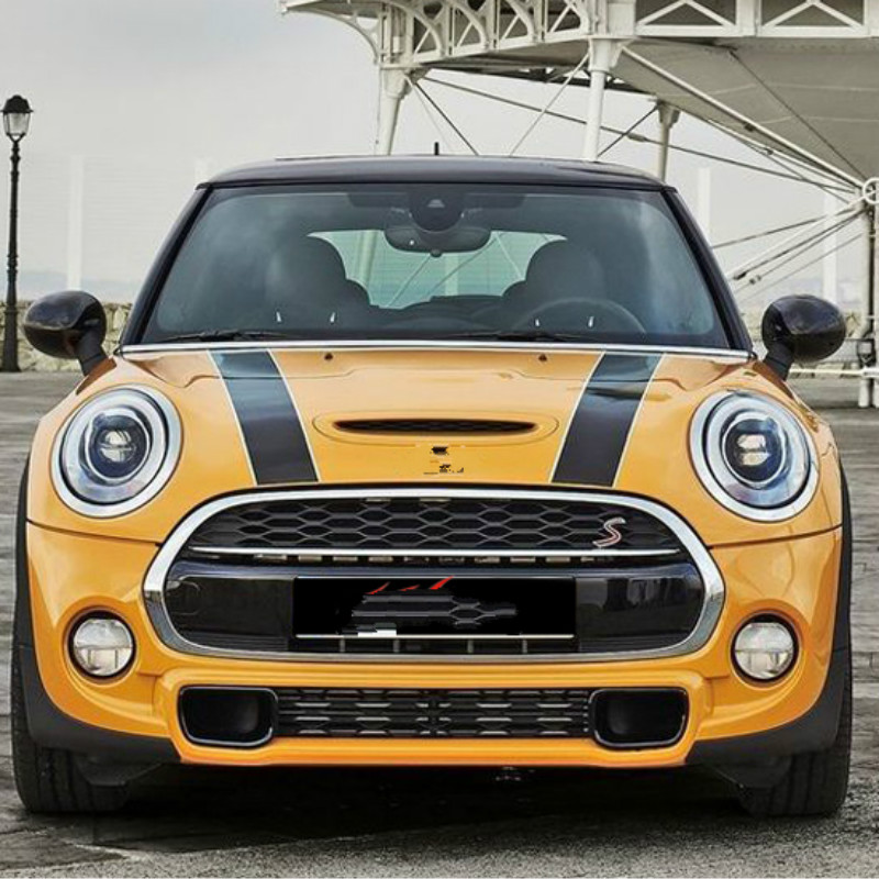 Hood Stripes Car Sticker And Decals Car Styling For Mini