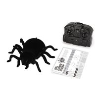 RC Spider Infrared Remote Control Wall Climbing Realistic Spider RC Prank Insect Joke Scary Trick Toy Kid Gift Halloween Party