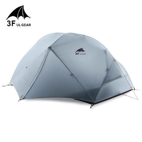 3f ul engrenagem 2 pessoa barraca de camping ultralight kamp tente tendas tenda barraca de