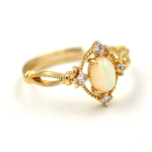 New product Open 925 Silver Ring , Main stone: egg shaped opal. new product ring 925 silver ring main stone natural tourmaline perfect gemstone perfect quality