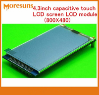 Fast Free Shipping 4 3 Inch Capacitive Touch LCD Screen LCD Module 800X480 Send STM32 Code