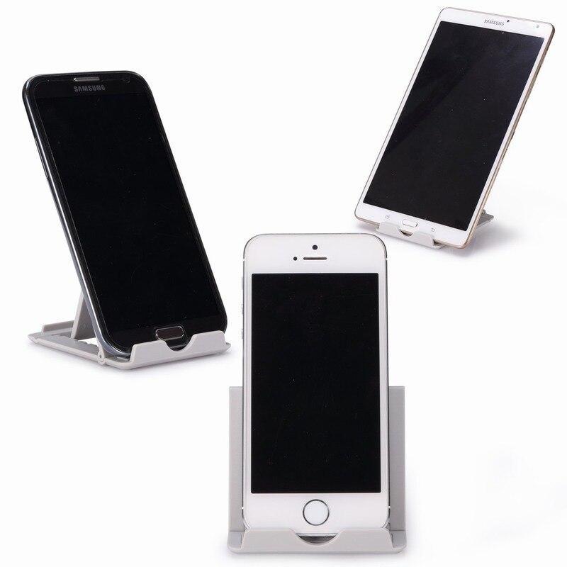 c240d3efef5 Soporte Universal plegable para teléfono de escritorio soporte movil mesa  para iphone 5S soporte para tableta móvil soporte para Samsung en Soportes  y ...