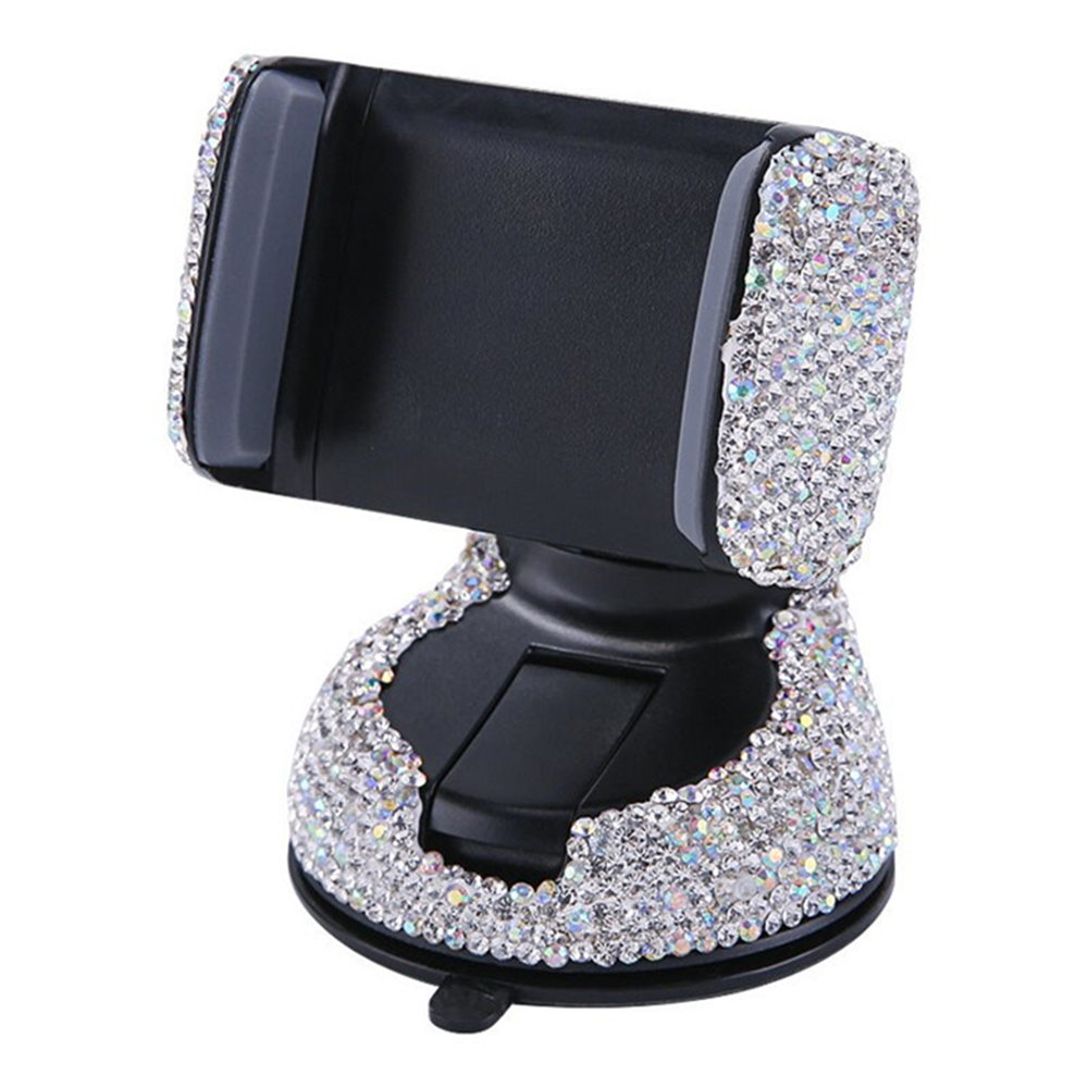 Universal Car Phone Holder Air Vent Mount Crystal Diamond Smartphone Stand Telephone Car Support Bracket Accessories
