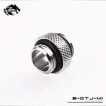 Bykski g1/4 mini mini mini conexão dupla rosca externa dupla rosca adaptador macho 4.5mm acessórios para computador acessórios B DTJ MI