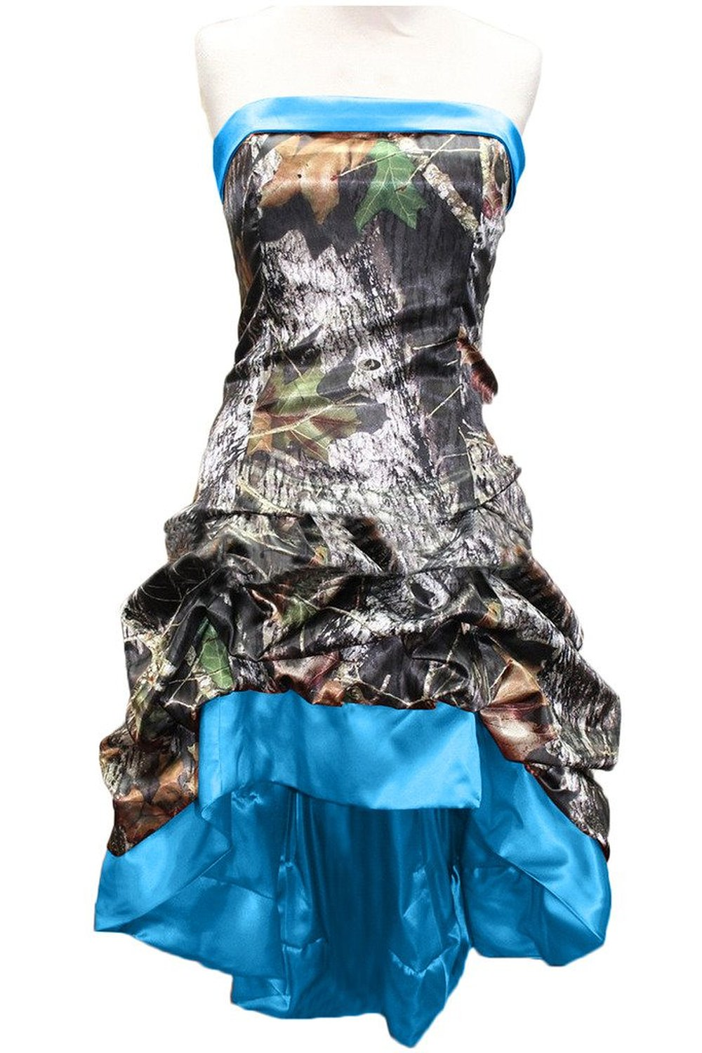 Blue Camouflage Party Decorations Popular Camo Prom Dress Buy Cheap Camo Prom Dress Lots From China