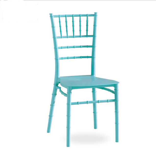 2 Pieces of Set Bamboo Plastic Dining Chair Outdoor Wedding Banquet Hotel Reception Modern Stoelen Chairs Dining-room-furniture