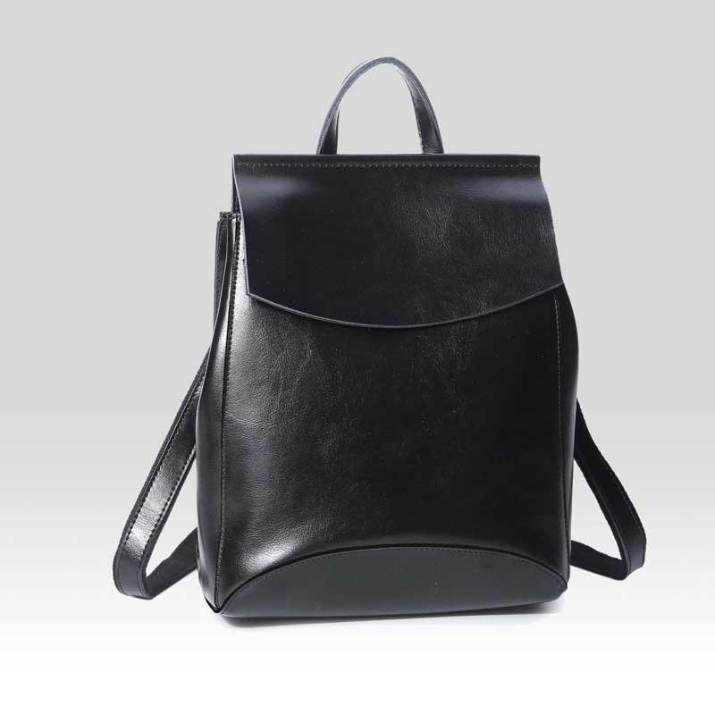 SAFEBET Marke Im Westlichen Stil 100% Echtes Leder Solide Reißverschluss Hohe Qualität Reise Wasserdichte Rucksack Schultasche frauen Backpac-in Rucksäcke aus Gepäck & Taschen bei  Gruppe 1