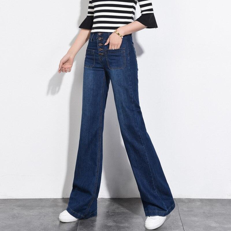 Pantalones Yx6322 Mujeres Pierna Suelto Blue Más Rectos Coreanas Jeans Ocio Amplia Slim Dark De Vaqueros Tamaño Las Alta Niñas wE4aHxa
