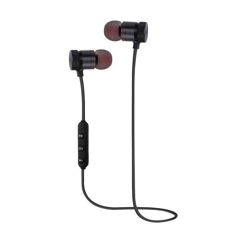 Bluetooth Magnet Earphones Running Sport with Mic for Philips Xenium V377 fone de ouvido мобильный телефон philips xenium e560 black