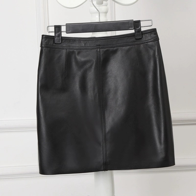 Sheepskin H type Autumn and Winter New Wild Skirt in Skirts from Women 39 s Clothing