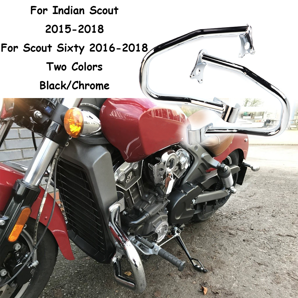 For Indian Scout 2015 2018 Highway Engine Guard Crash Bar bumper Protector rod Scout Sixty 2016