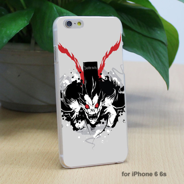 Death Note Hard Clear Case Cover for iPhone