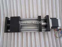 CNC GGP 1605 ballscrew Sliding Table effective stroke 50mm Guide Rail XYZ axis Linear motion+1pc nema 23 stepper  motor