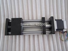 CNC GGP 1605 ballscrew Sliding Table effective stroke 50mm Guide Rail XYZ axis Linear motion+1pc nema 23 stepper  motor
