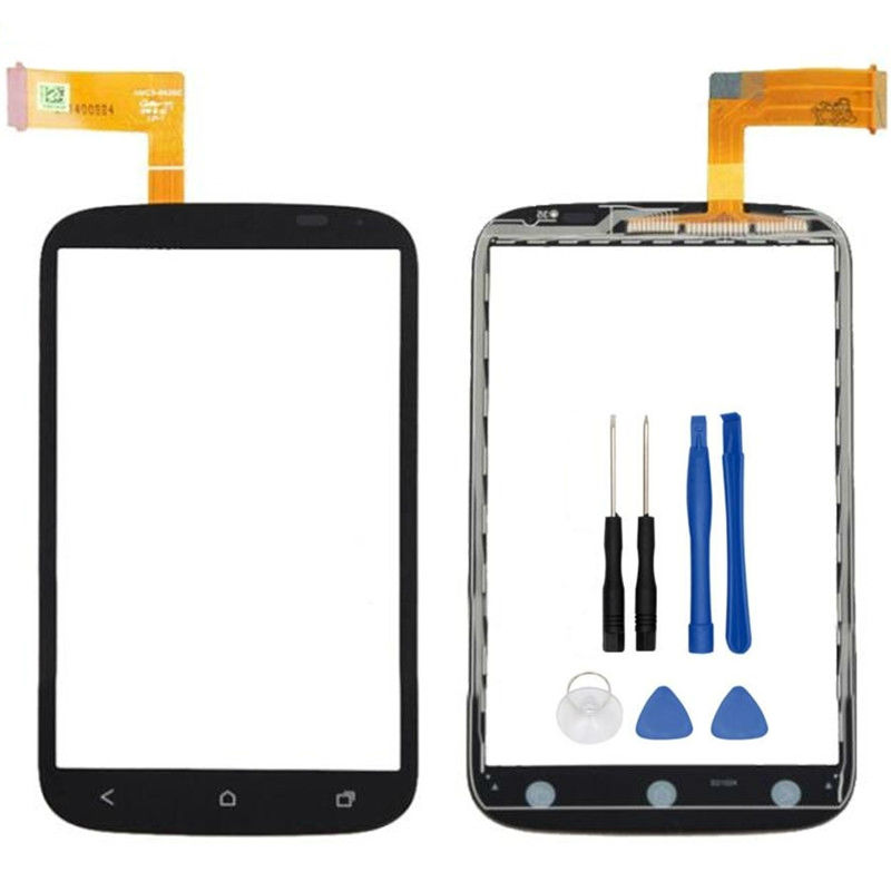 High Quality 5 5 For HTC Desire X T328e Touch Screen Digitizer Front Glass Lens Sensor