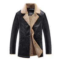 Winter Jackets Men 2017 Hot Sale Casual Man Coats Thicken Windbreak Overcoat Turn Down Collar Fashion