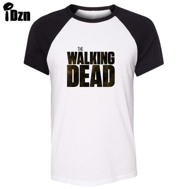 Camiseta unisex del verano The Walking Dead Rick Daryl outbreak zomble  respuesta Raglan Camiseta de manga
