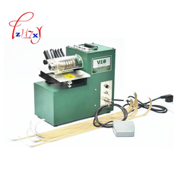 Single Head Leather Cutting ,leather slitter,shoe bags straight paper cutter, Vegetable tanned leather slicer