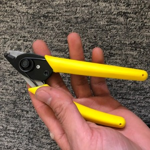 Image 2 - High quality Fiber Optic Cable Stripper For Stripping 125 Micron Fiber, Double nose pliers ,Forceps ,FTTH Tools ,CFS 2