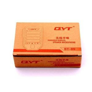 Image 5 - Baofeng BT 89 Handheld Wireless Bluetooth Microphone Speaker for QYT KT series Mobile Radio 10 Meters Receive Range Microphone