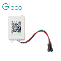 DC5V-24V Bluetooth 4.0 LED Taśmy LED RGB Kontroler SPI Dla WS2811 6803 IC Piksel 5050 Wsparcie Android iOS APP