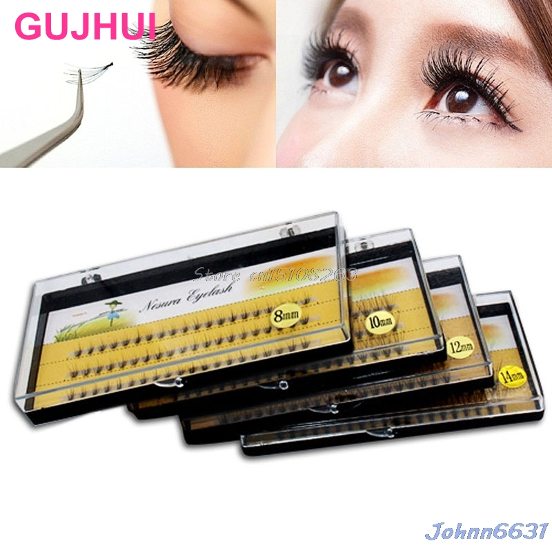20 Eyelashes into 1 Bundles Natural False Eyelash Cluster Eye Lashes Makeup Tool #Y207E# Hot Sale ...