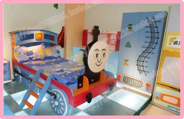 Muebles para ni os de dibujos animados thomas tren coche - Camas tren para ninos ...