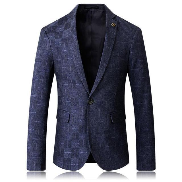 2018 New Arrive Men Korean Slim Businese Casual Suit Office Wear