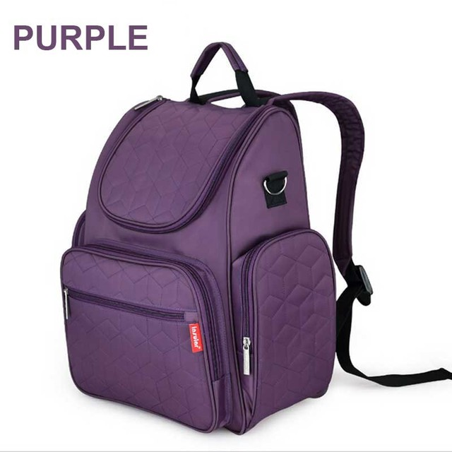 Free Shipping! Fashion Mummy Backpack With Large Capacity,Nappy Bags Baby Diaper Bag Stroller Bag Changing Travelling Bag