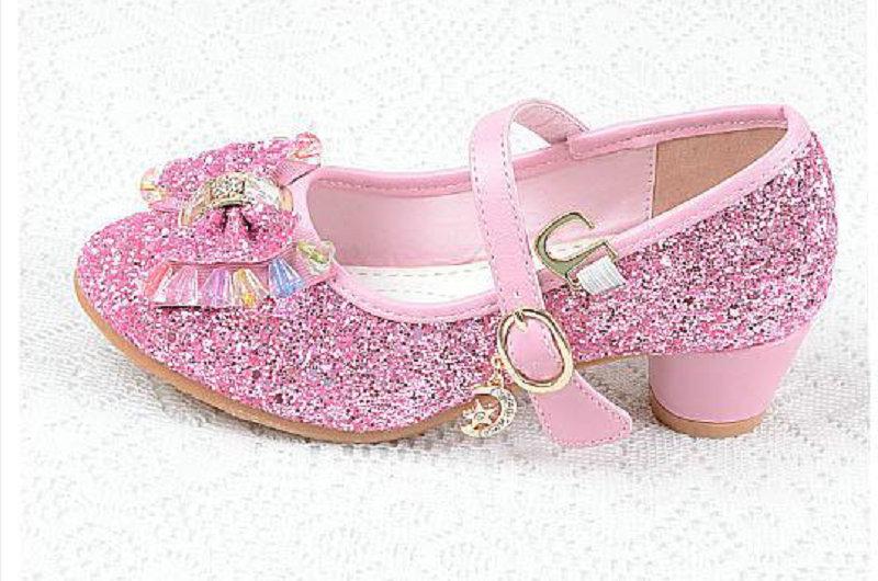 Nieuwe luxe sandalen kinderen meisjes leren bowtie party schoenen - Kinderschoenen - Foto 5