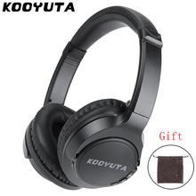 цены на KOOYUTA Bluetooth Headphone Foldable, Wireless headphones Portable Bluetooth Earphone with Mic support TF card FM radio for Sony в интернет-магазинах