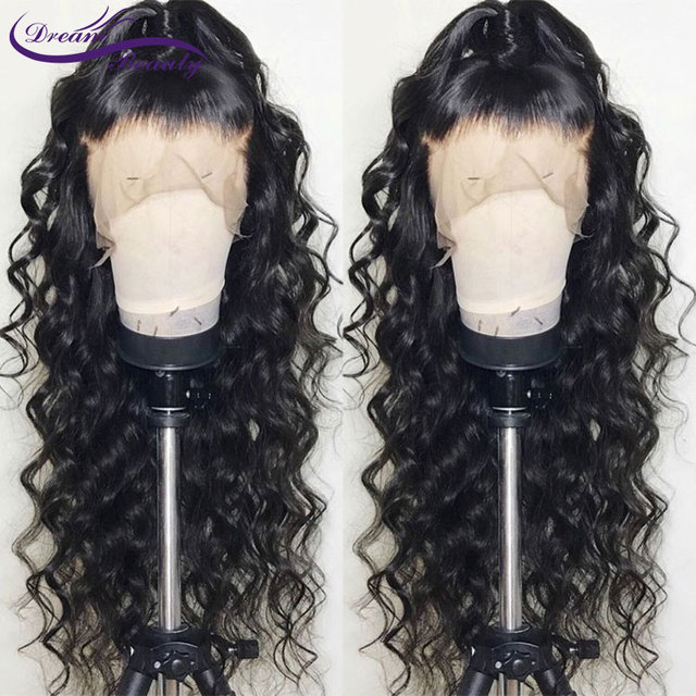 13×6 Lace Front Human Hair Wigs With Baby Hair Pre Plucked Hairline Brazilian Remy Body Wave Lace Human Hair Wigs Dream Beauty