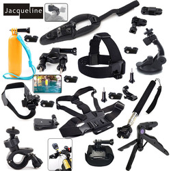 Jacqueline for All-in-1 Accessories Set Kit for Sony Action Cam FDR-X1000V W 4K HDR-AS30V AS200V HDR-AS100V HDR-AZ1 Mini