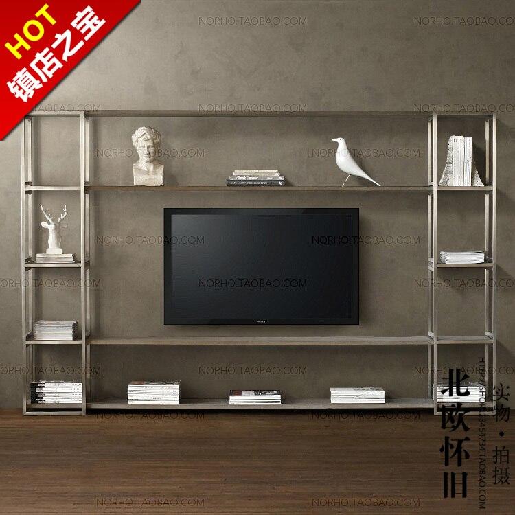 Nordic Ikea Retro Houten Tv Kast Te Doen Van De Oude
