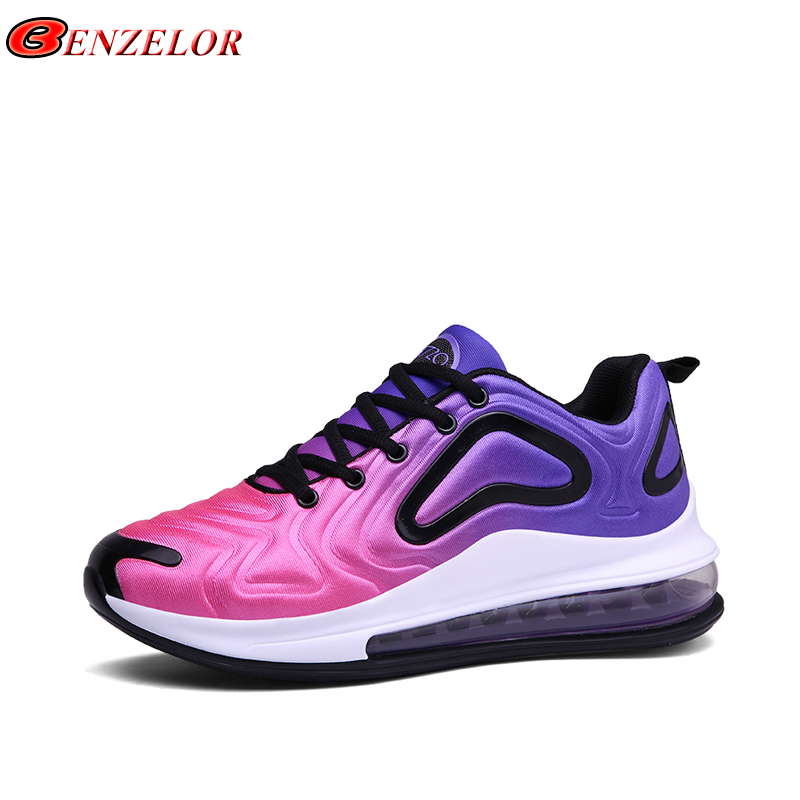 BENZELOR New Summer Autumn Lightweight Air Cushion Sneakers Men Shoes Casual Breathable Comfortable Male Shoes Walking Footwear(China)