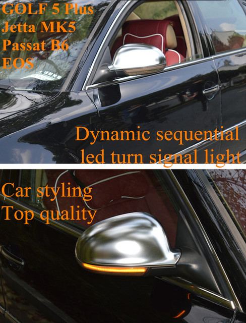 Turn Signal Led Side Wing Rearview Mirror Indicator Blinker Repeater