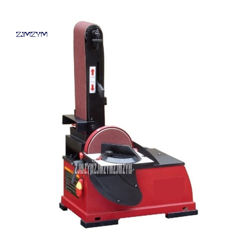 Machine de plateau de sable de ceinture professionnelle 915 Machine de polissage de Machine de sable de bureau verticale 220V 500W 5.6 m/s 100*915mm offre spéciale