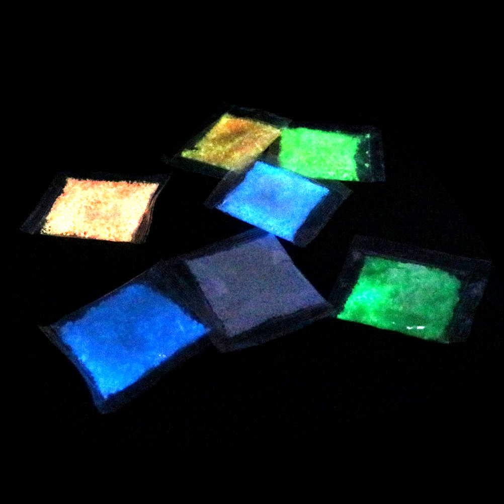 זוהר חול אבנים גן פרק כביש חלוקי זוהר בחושך קישוטי למסיבה אקווריומים דגי טנק קישוט אבן קישוטים