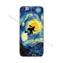 Harry Potter Starry Night iPhone Case