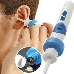Absorbentes eléctricos para el hogar, órgano de oreja limpia para los niños, limpiador de cucharas, absorción de oreja para adultos
