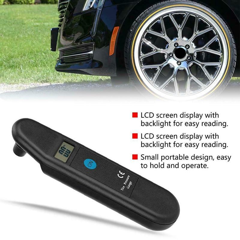TG101 LCD Digital Car Truck Tire Tester High Precision  For Car Truck Tyre Air Pressure Gauge Meter Manometer Barometers