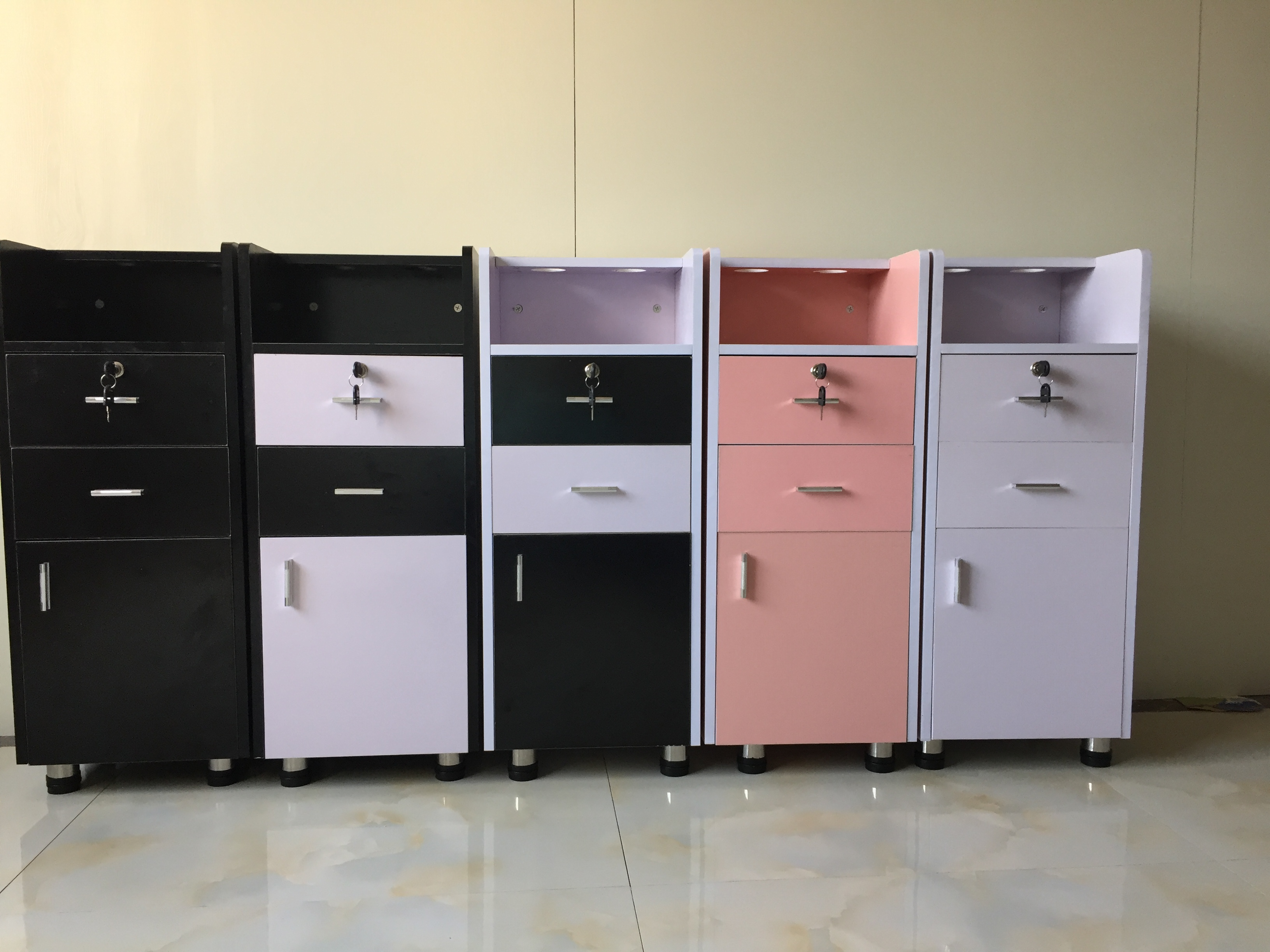 Gentil Light Barber Shop Hair Salon Tool Cart Cabinet Beauty Parlor Supplies Carts  Wooden Product In Tool Cabinets From Tools On Aliexpress.com | Alibaba Group